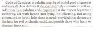 D&D Player's Handbook, page 44.