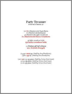 Party Treasure (session.30)