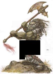 Yorgenson Uberson's ideal 'well-equipped' Orc.